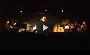 Cibele Codonho sings Wave, Velas & Xodó. Show: Vento Bravo, dir. Felipe Senna, feat. Nailor Proveta